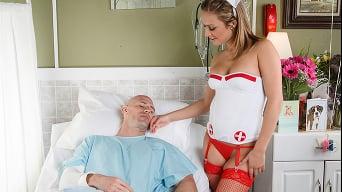Kennedy Leigh in 'Nurse Leigh, Cock Stalker'
