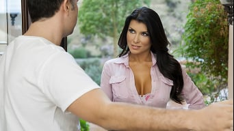 Romi Rain in 'Library Cop-a-Feel'