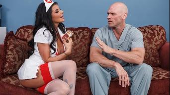Romi Rain in 'RocknRoll Nurse'