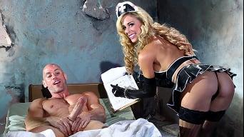 Cherie Deville In 'Dr spankencocks sexperiments'