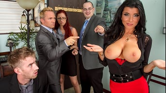 Romi Rain in 'My Boss Is A Whore'