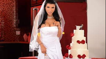 Romi Rain in 'Romis Early Wedding Gift'