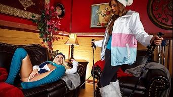Britney Amber in 'Ski Bunnies'