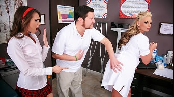 Phoenix Marie in 'Nailed by the School Nurse'