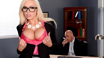 Nina Elle in 'My Fucking Boss'