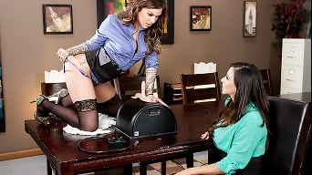 Ariella Ferrera in 'Selling The Sybian'