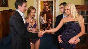 Ivana Sugar in 'DP at the Euro Swinger Sex Party'