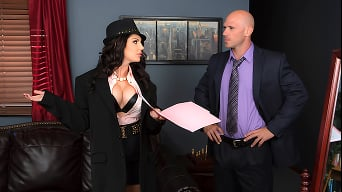 Darling Danika in 'Fucking With Her Boss'