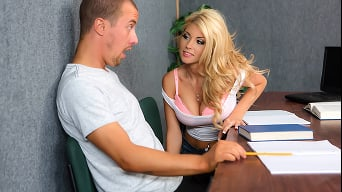 Kayla Kayden in 'Back Of The Classroom'