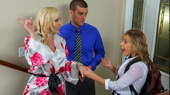Alena Croft in 'My Husbands Student - Part One'