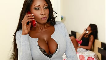 Diamond Jackson in 'Busted and Busty'