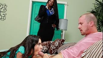 Diamond Jackson in 'Mom Catches The Babysitter'
