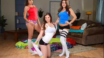 Cassidy Banks in 'Teen Sleepover'