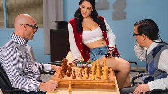 Noelle Easton in 'Noelle Joins the Chest Club'