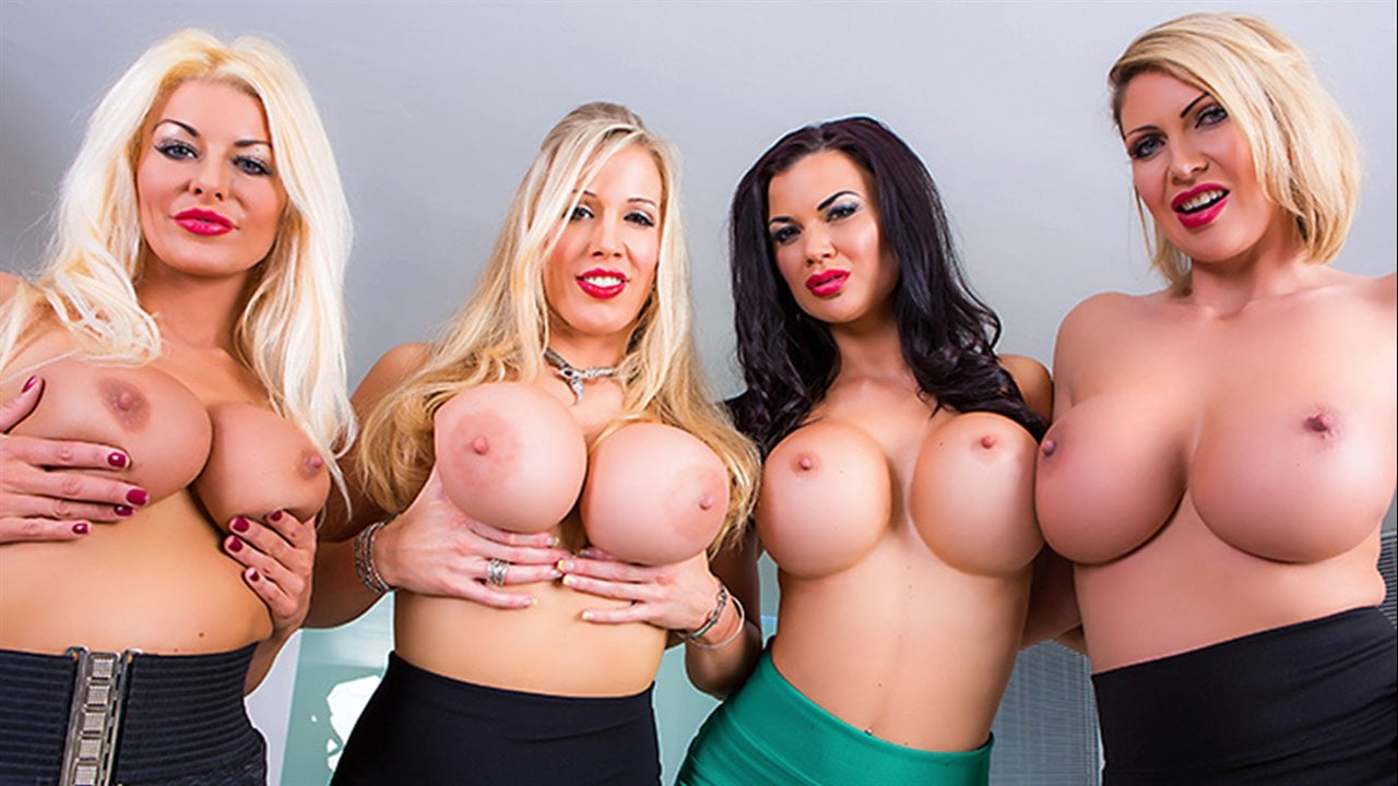 Big Tits Group Porn Pics