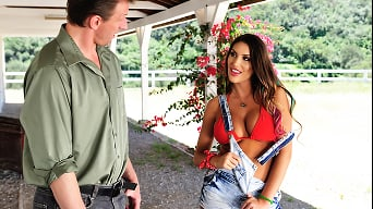 August Ames in 'Big Titty Country'