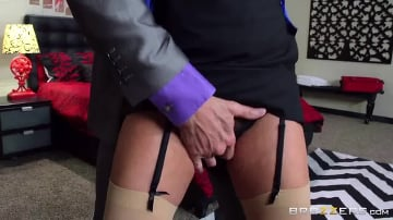 Kalina Ryu - Wife Fucks Boss On Business Trip