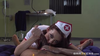 Britney Amber in 'The Nuru Nurse'