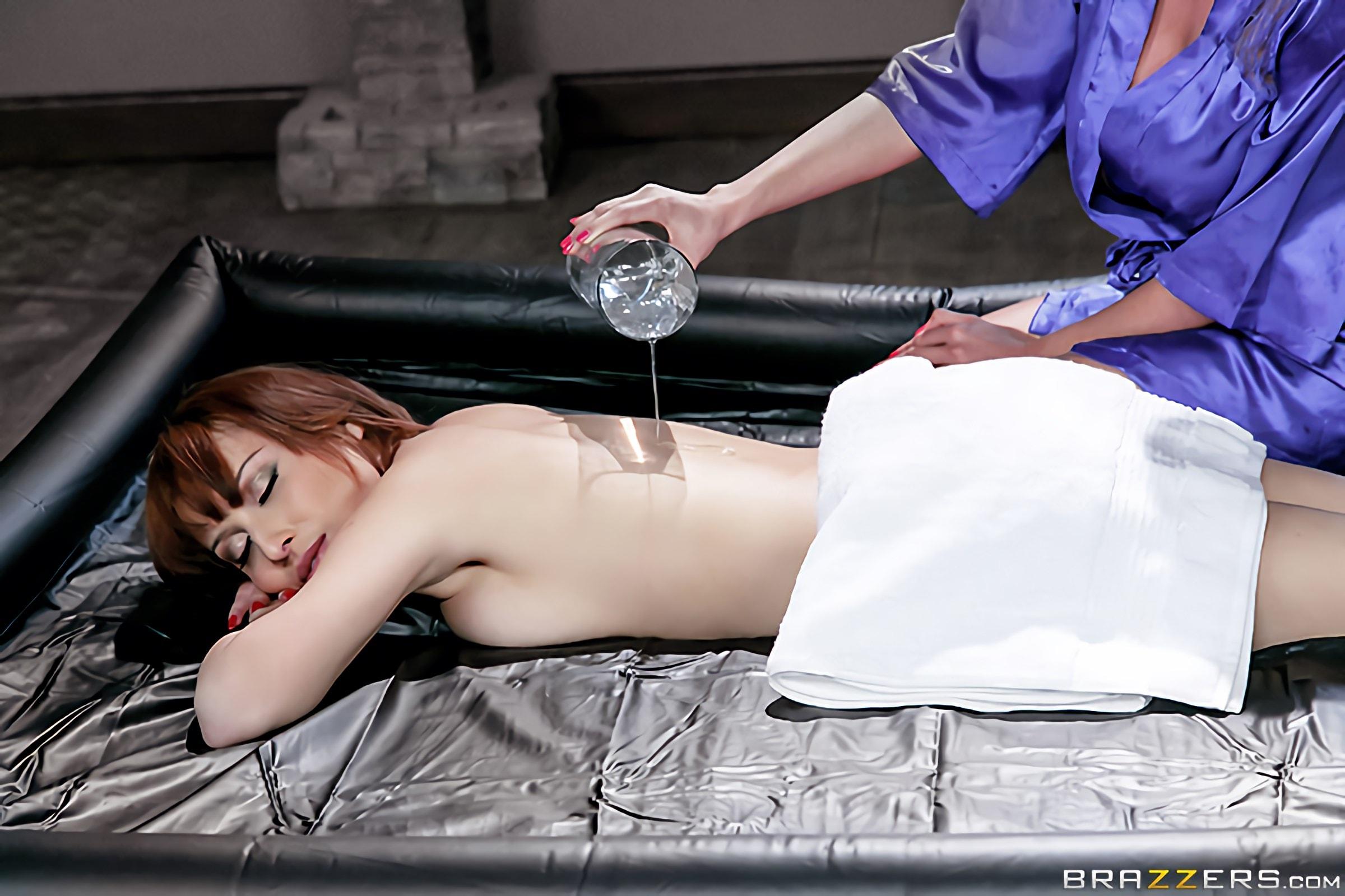 Brazzers 'Oily Playtime' starring Adessa Winters (Photo 12)
