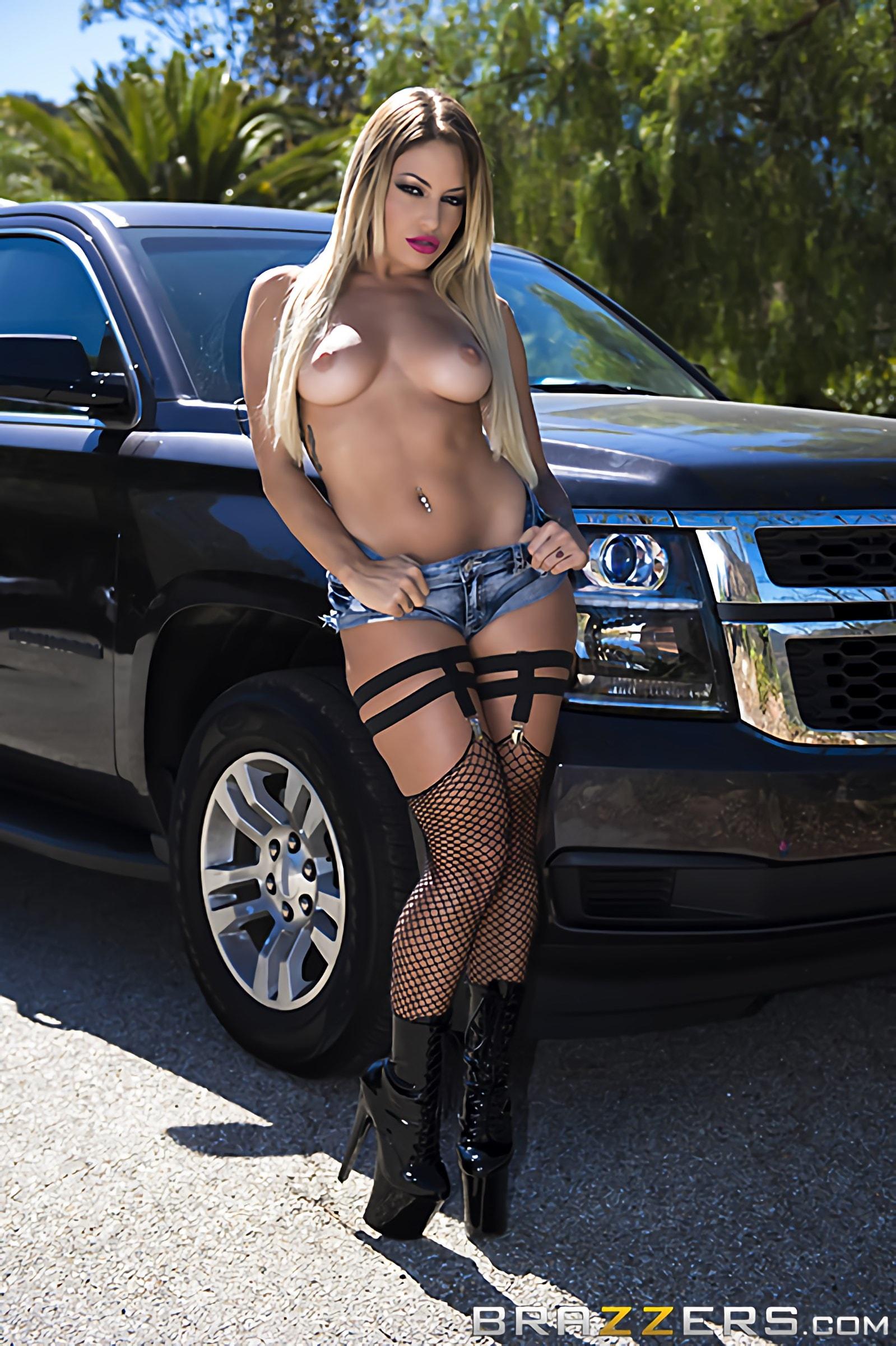 Brazzers 'Arrest This Whore' starring Kissa Sins (Photo 6)