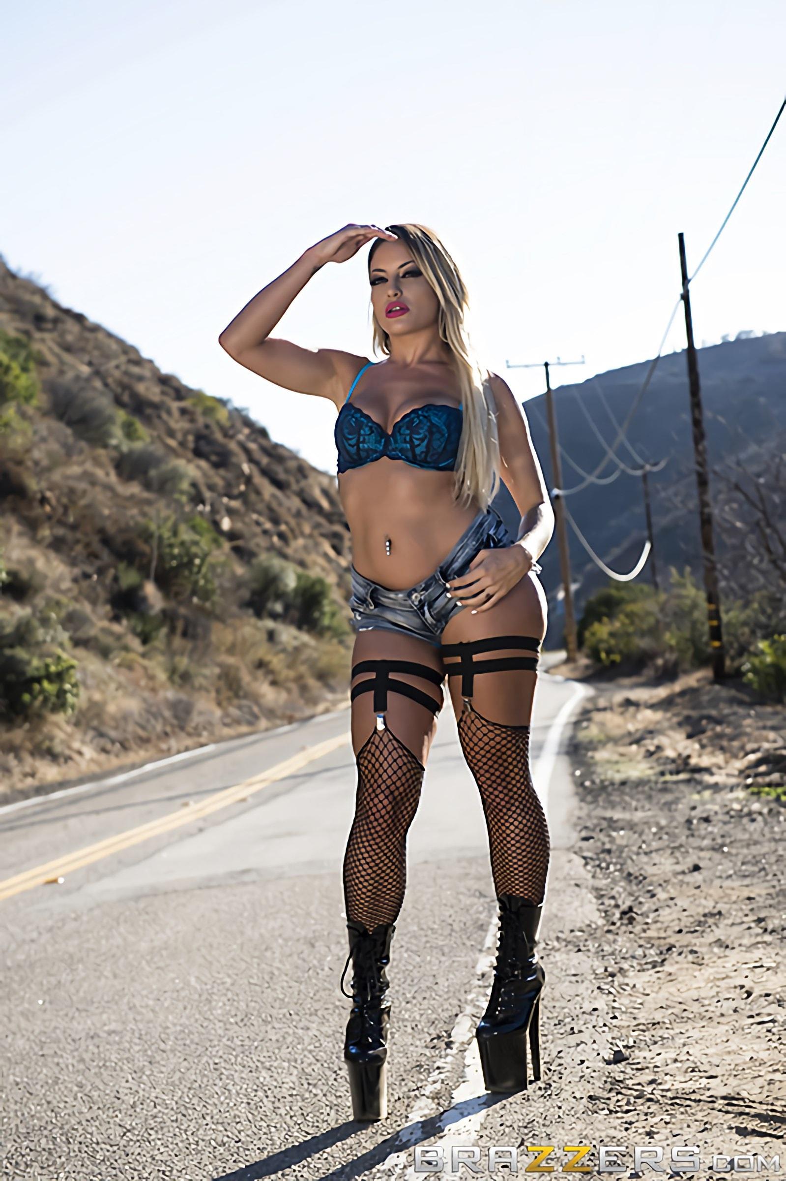 Brazzers 'Arrest This Whore' starring Kissa Sins (Photo 12)