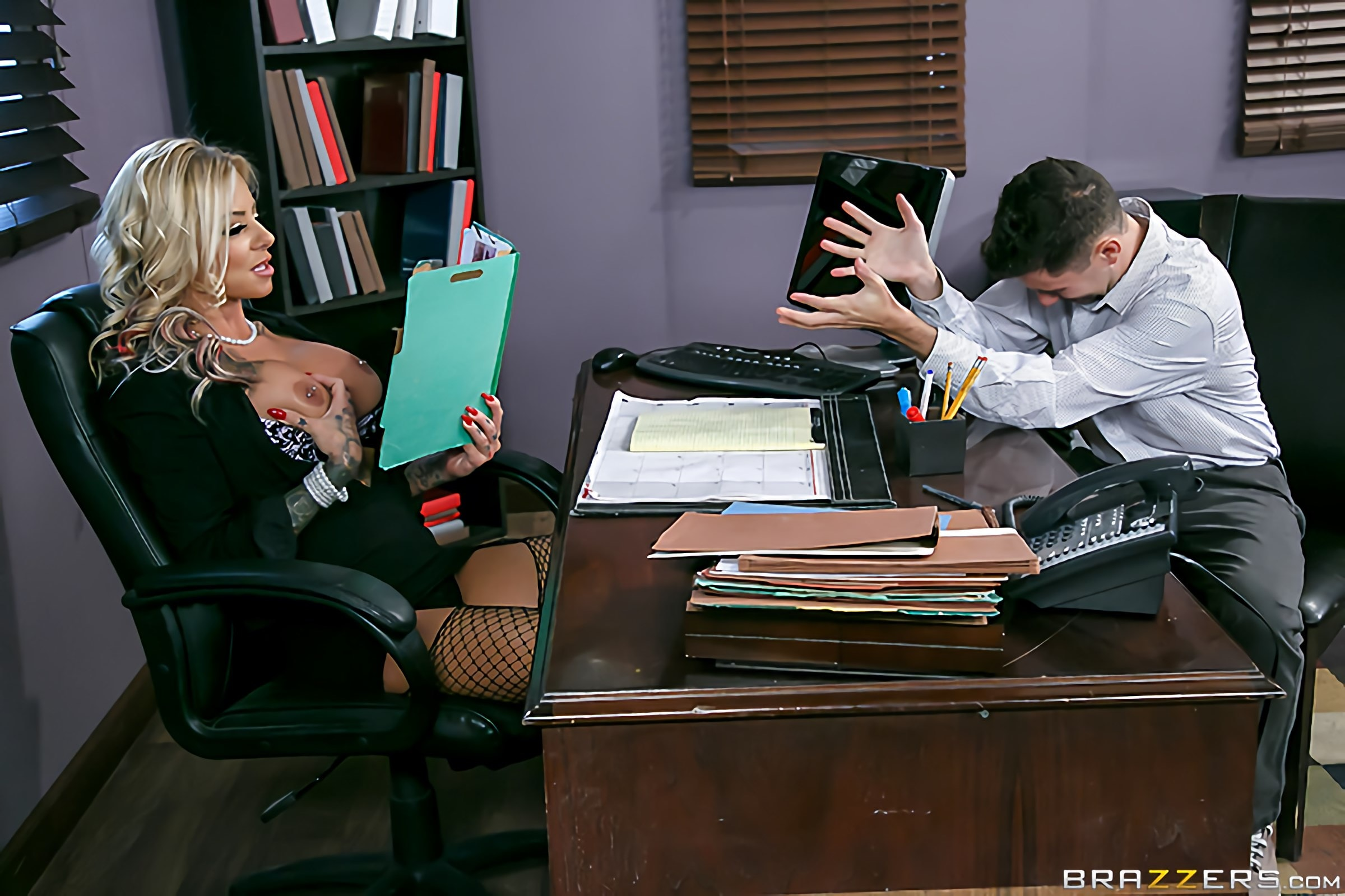 Brazzers 'The Head Mistress' starring Britney Shannon (Photo 7)