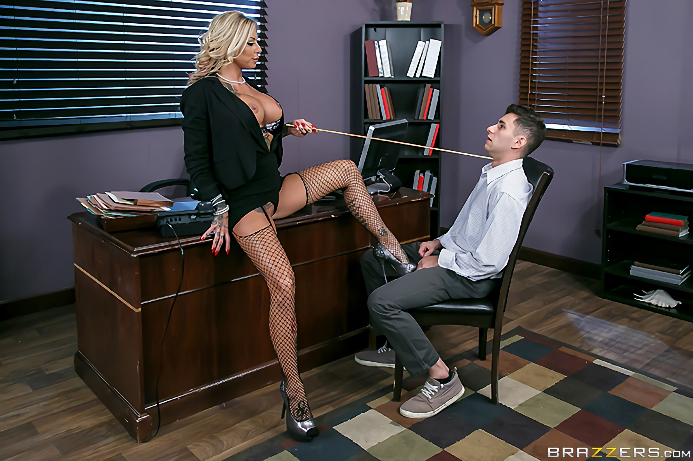 Brazzers 'The Head Mistress' starring Britney Shannon (Photo 12)