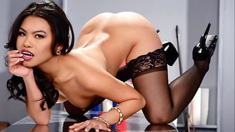 Cindy Starfall in 'The Janitors Closet II'