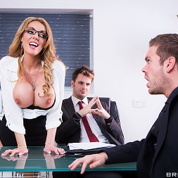 Stacey Saran in 'Brazzers' The Firm and the Fanny (Thumbnail 2)
