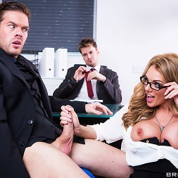 Stacey Saran in 'Brazzers' The Firm and the Fanny (Thumbnail 9)