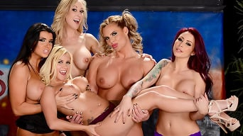 Brandi Love in 'The Late Night Orgy'